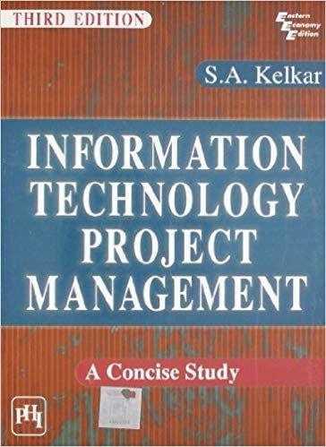 Information Technology Progect Management Ed. 3