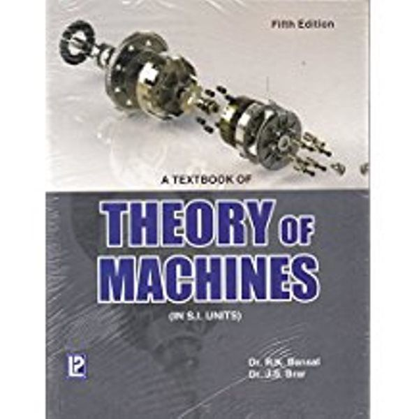 A Text Book Of Theory Of Machines