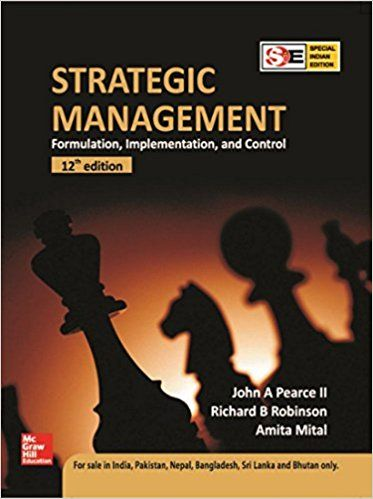 Strategic Management Ed.12 - Old