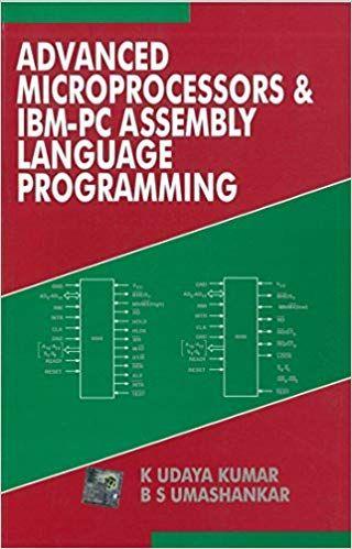 Advanced Microprocessors & Ibm Pc Ed.1