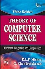 Theory Of Computer Science Ed.3