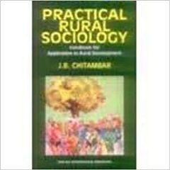 Practical Rural Sociology : Handbook for Application to Rural Development