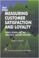 Measuring Customer Satisfaction and Loyalty