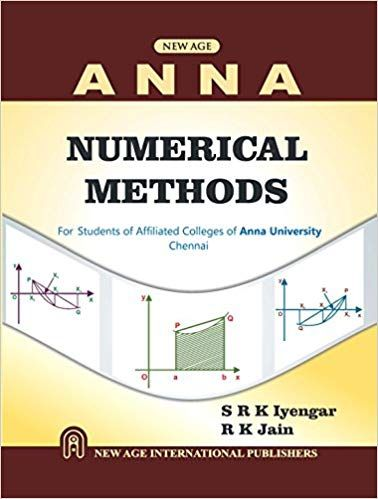 Numerical Methods (As per ANNA University)