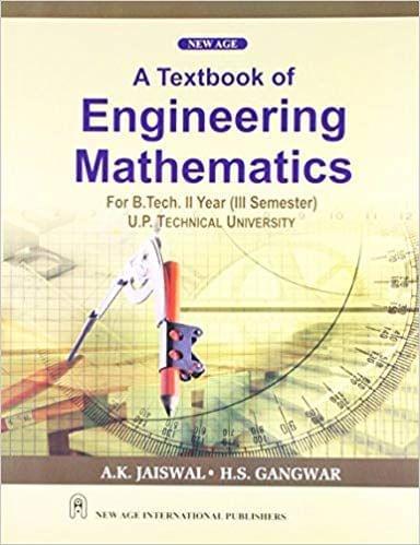 A Textbook of Engineering MathematicsIII (As per UPTU Syllabus)