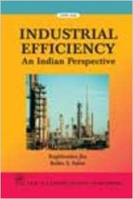 Industrial Efficiency  An Indian Perspective