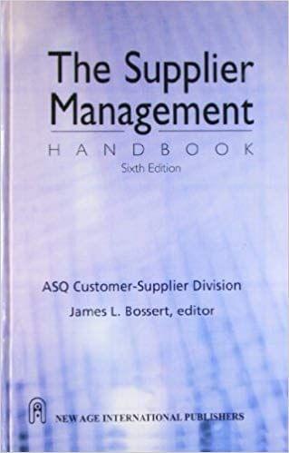 The Supplier Management Handbook