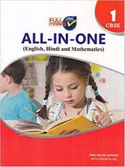 All In One Class 1 CBSE (English, Hindi and Mathematics) (2019-20)