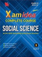 Xam Idea Complete Series Social Science for CBSE Class 9 (For 2019 Exam)