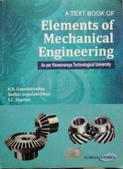 Elements of Mechanical Engineering , for I &II semester B.E.