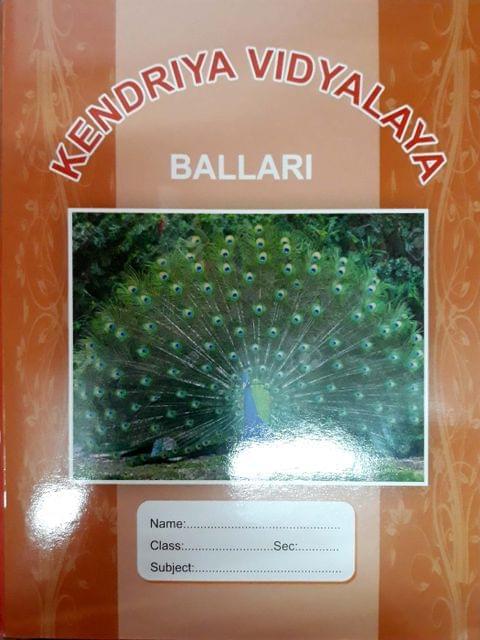 Kendriya Vidyalaya Ballari ( Note Books )