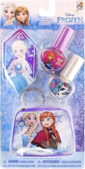 Disney Frozen Nail Polish Gitter Blue