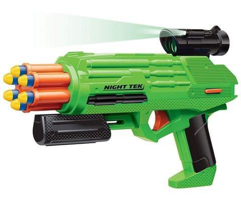 Buzz Bee Toys 55703 Ultra-Tek Night Tek Blaster Toy