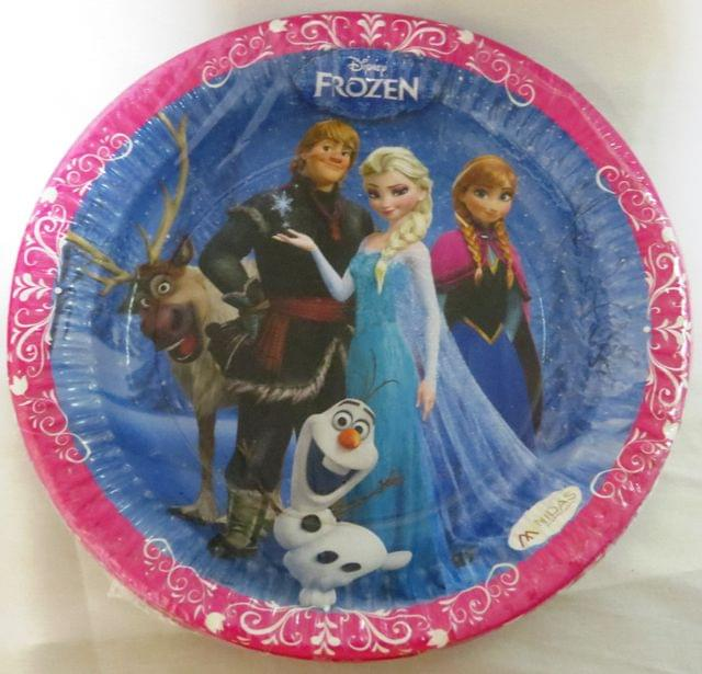 FROZEN PAPER PLATE BIG