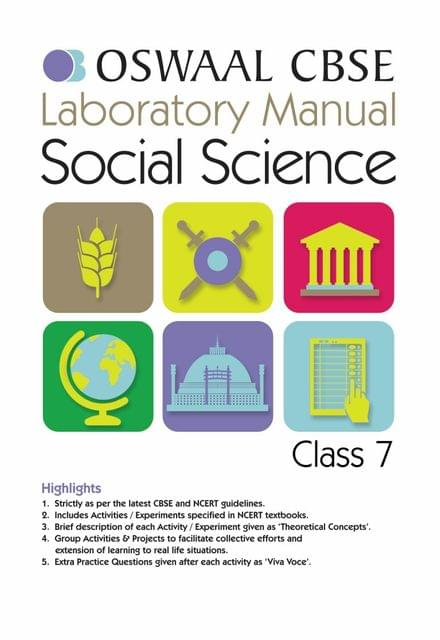 Oswaal CBSE Laboratory Manual Class 7 Social Science Book (For March 2020 Exam)