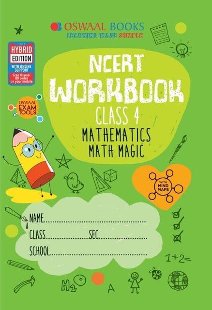 Oswaal NCERT Workbook Class 4 Mathematics Math Magic Book