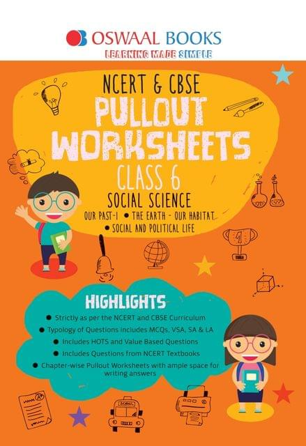 Oswaal NCERT & CBSE Pullout Worksheets Class 6 Social Science Book (For March 2020 Exam)