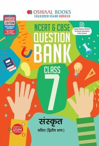 Oswaal NCERT & CBSE Question Bank Class 7 Sanskrit Book (For March 2020 Exam)