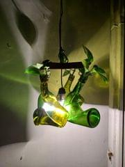 Hanging Planter with Light