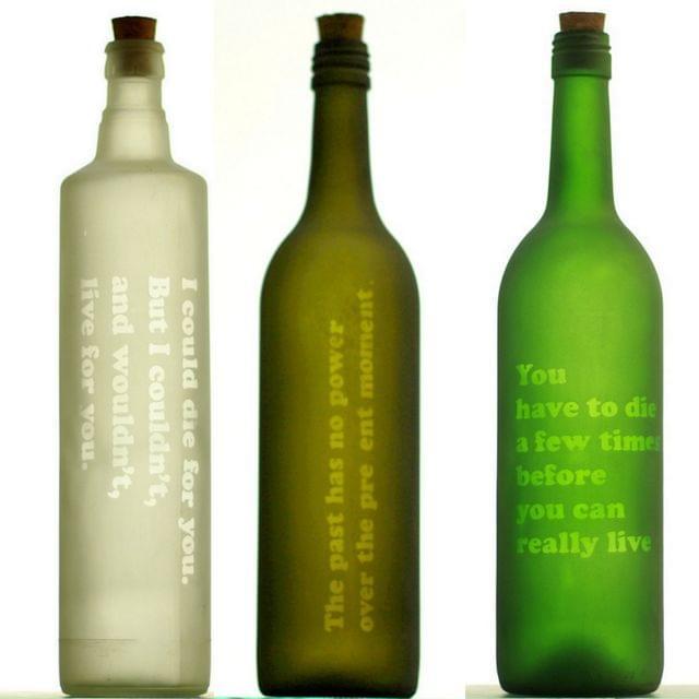 Profound Bottle - Quotes