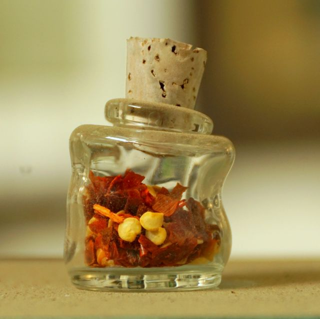 Mini Wonky Bottle with Cork CLEAR 05ml
