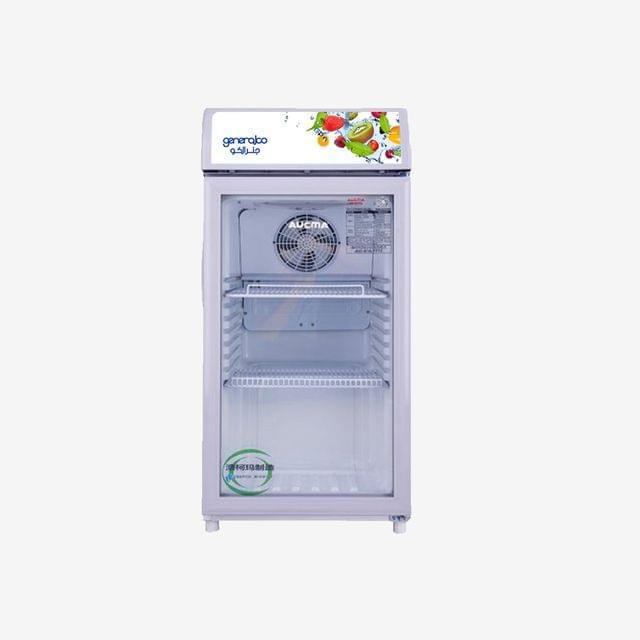 GENERALCO | Glass Refrigerator (1 Door) | 163W | 85L | GSC85
