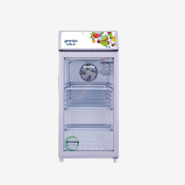GENERALCO | Glass Refrigerator (1 Door) | 163W | 115L | GSC115