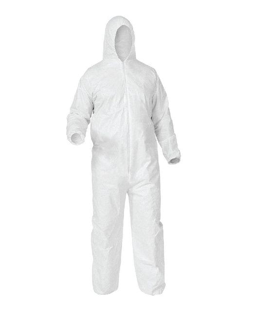 Disposable Non-Woven Coverall   Laminated   60 GSM