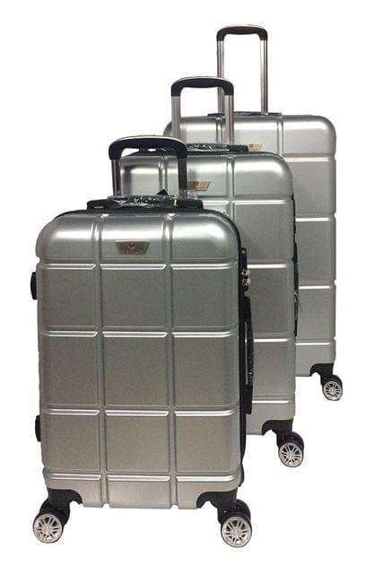 PLATINUM TRAVEL TROLLEY BAG | UNBREAKABLE HARD | GOLD  | 3 SET | RA8636