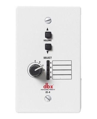 DBX | Wall Mounted Zone Controller | RJ-45 | ZC8