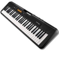 CASIO   Casiotone   Digital Keyboard   61-Key   CT-S100   Black
