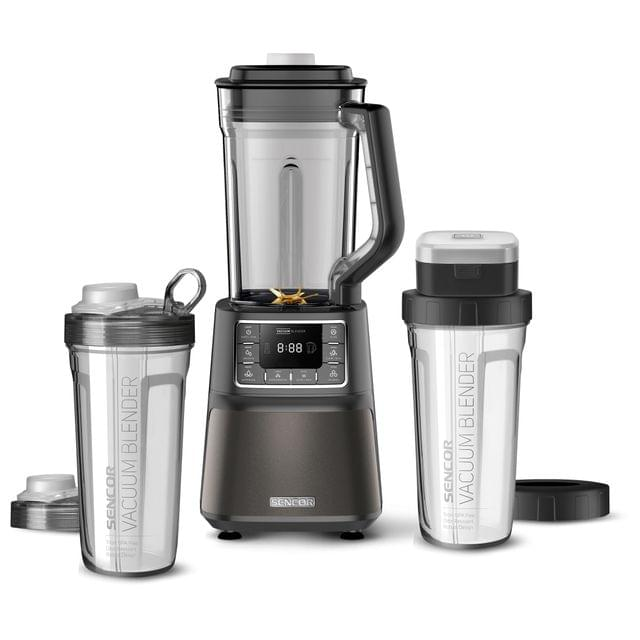 SENCOR | Automatic Vacuum Super Blender | 1500 W | Black | SBU 7878BK