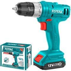 TOTAL   Cordless drill   12V   Battery   TDLI1211