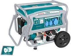 TOTAL   Gasoline generator   3000 rpm   4 stroke   TP165006