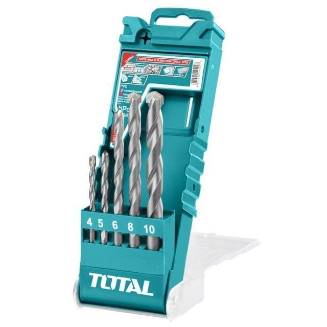 TOTAL | Multi Function Drill Bits | 5Pcs | TACSD7156