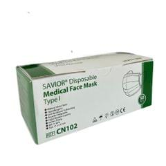 Savior | Disposable medical | Face mask | type l Four Layers