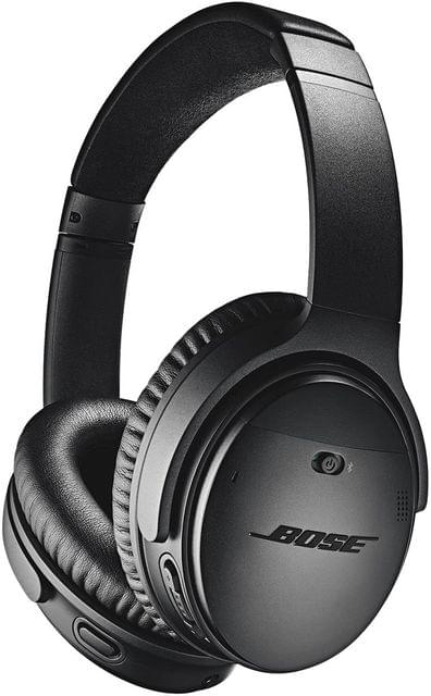 BOSE   Quiet Comfort 35 II  Noise -Cancelling Wireless Headphones Black   789564-0010