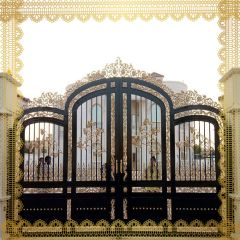 DECORATIVE GATES | OUTDOOR|AL SALAMA STEEL | AS02