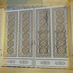 DECORATIVE ENTRANCE GATES | AL SALAMA STEEL | AS01