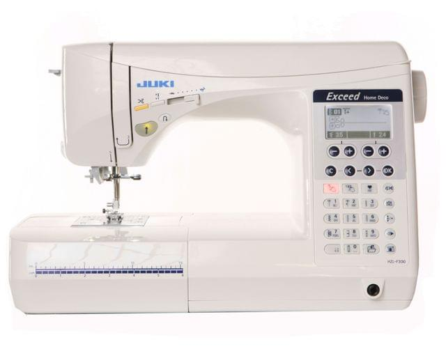JUKI Exceed Series Sewing Machine with 106 Stitch Patterns and 3 Fonts | HZL-F300