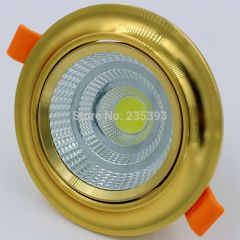 COB DOWN LIGHT | 20W, 30W | GOLD COLOR | USED FOR HOTELS