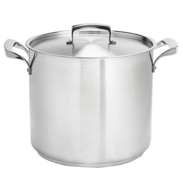 BROWNE | STAINLESS STEEL THERMALLOY DEEP STOCK POT