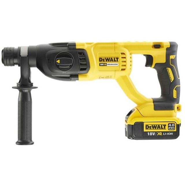 DEWALT | Cordless XR SDS + Brushless Hammer 4Ah 18V | DCH133M1-GB