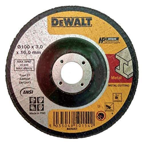 DEWALT   Metal Grinding Wheel 100X6X16mm   DWA4500IA-AE