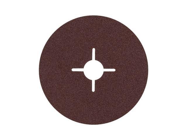 BOSCH   Fiber Sanding Disc Metal 100 mm Grit 60   50 Pcs   BO2608608N94-50