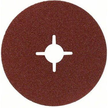 BOSCH | Fiber Sanding Disc Metal 115 mm | Grit 120 | 50 Pcs | BO2608608P03-50