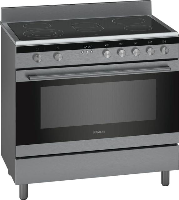 SIEMENS | Electric range cooker Stainless steel 90 CM | HK9K9V850M