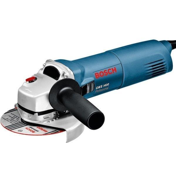 BOSCH   Professional Electric Angle Grinder GWS 1400   125 MM   1.80 KG   BO0601824800