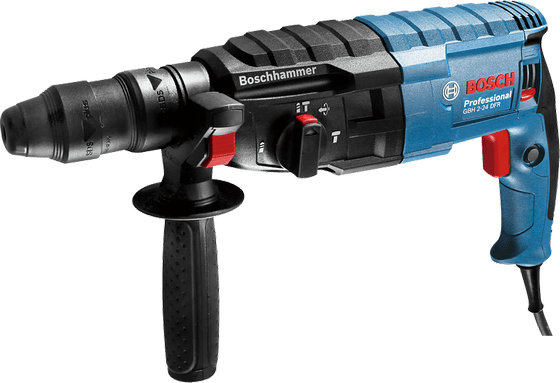 BOSCH   Professional Rotary Hammer with SDS-plus GBH 2-24 DFR   790 W   2.9 KG   BO06112730K0