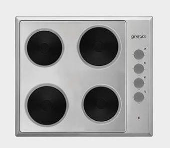 GENERAL COOL | 4 Electric Hot Plate Built-In Hobs 60 Cm | GC604H